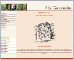 Private Site über alte Grenzsteine von Roland Schmitt