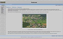 Private Site über Feldrom von Martin Dannhauser